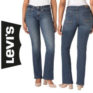 Levi's Signature Mid Rise Bootcut Jeans ALTERED 6M